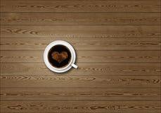 Stylized coffee background Royalty Free Stock Photo
