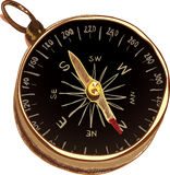 Stylized Compass Royalty Free Stock Photo