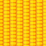 Stylized corn seamless pattern Royalty Free Stock Images
