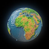 Stylized 3d Earth Stock Photo