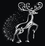 Stylized deer Stock Images