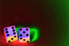 Stylized Dice Stock Images