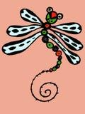 Stylized dragonfly Stock Photos