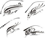 Stylized eyes Stock Photos
