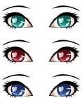 Stylized Eyes Royalty Free Stock Image