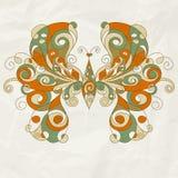 stylized fjäril Arkivfoton