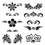 Stylized floral ornament Stock Image