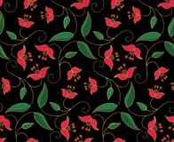 Stylized floral ornament. Stock Image