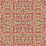 Stylized Floral Ornate Baroque Seamless Pattern Royalty Free Stock Photo