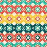 Stylized floral pattern. Seamless stylized floral pattern. Band Royalty Free Stock Photos