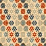 Stylized floral pattern. Seamless stylized floral pattern. Diagonal stripes Royalty Free Stock Images