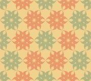 Stylized floral pattern. Seamless stylized floral pattern. Minimalism Royalty Free Stock Image