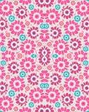 Stylized Floral Seamless Pattern Stock Photo