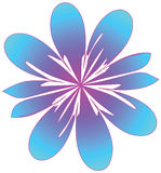 Stylized flower royalty free illustration