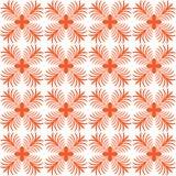 Stylized flower seamless pattern Stock Photo