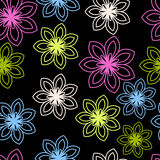 Stylized flowers Royalty Free Stock Photography