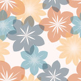 Stylized flowers vector illustration