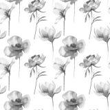 Stylized flowers illustration Stock Photo