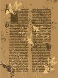 stylized gammalt för manuskript Vektor Illustrationer