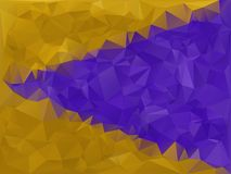 Purple and Gold Geometric Stock Images