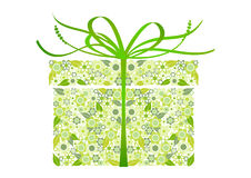 Stylized gift -  Royalty Free Stock Images