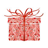 Stylized gift -  Royalty Free Stock Photo