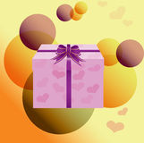 Stylized Gift - Vector Stock Images