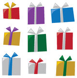 Stylized Gifts Stock Photo