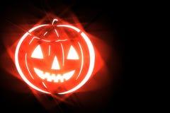 Stylized halloween illustration on black background Stock Photography