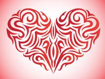 Stylized heart Stock Images