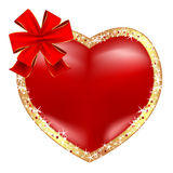 Stylized heart stock photos