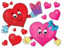 Stylized heart theme image 2 Royalty Free Stock Photos