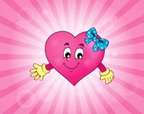 Stylized heart theme image 3 Stock Photo