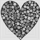 Stylized heart. Valentine's day  symbol. Decorative design element. Stylized heart. Valentine's day love symbol. Decorative design element vector illustration