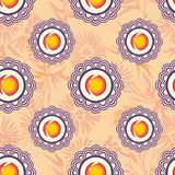 Stylized Japanese seamless pattern Royalty Free Stock Photography