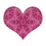 Stylized love symbol stock illustration