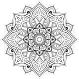 Stylized  mandala. Stock Image