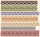 Stylized meanders royalty free illustration
