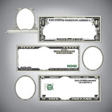 Stylized money with plenty of blank space Stock Photos
