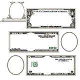 Stylized money with plenty of blank space Royalty Free Stock Photo