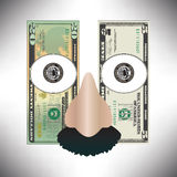 Stylized money Stock Photos