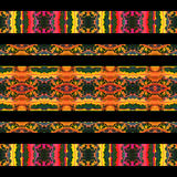 Stylized Nature Stripes Stock Image
