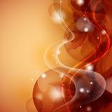 Stylized Orange Flower Background. Royalty Free Stock Photo