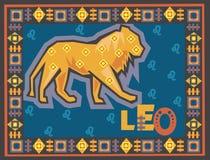 Stylized and ornamental Zodiac Royalty Free Stock Photography