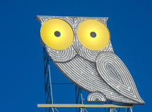 Stylized owl Royalty Free Stock Photo
