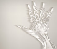 Stylized palm. Royalty Free Stock Photo