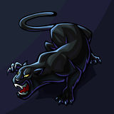 Stylized Panther Stock Image
