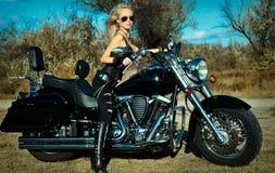 Stylized photo of woman Royalty Free Stock Photo