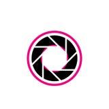 Stylized photography logo Stock Image