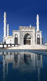 Stylized photos of a new mosque in Astana. Kazakhstan Stock Image